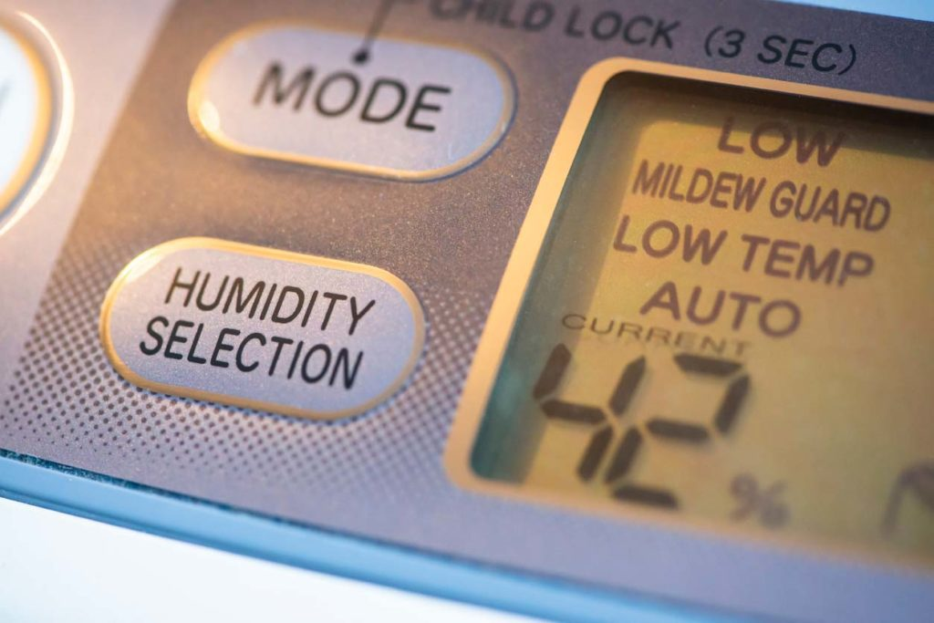What level of humidity is acceptable inside my house?